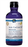 Nordic Naturals Arctic Cod Liver Oil For Humans, 8 oz. Lemon Flavor