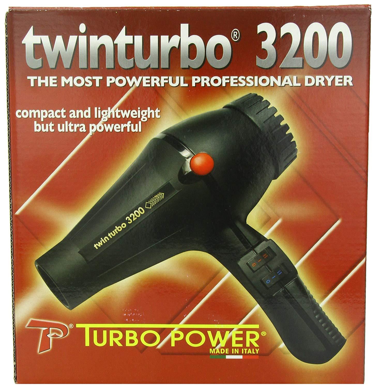 Details about Pibbs Twinturbo 3200 1900 watt Compact Lightweight Hair Dryer, Black
